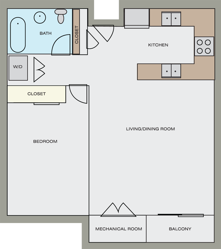 Floor plans pricing washington square apartments for Floor plan prices
